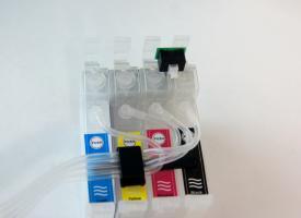 СНПЧ (Система непрерывной подачи чернил ) на Epson  TX117