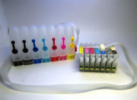 СНПЧ ( Система непрерывной подачи чернил ) Epson Stylus Photo 2100