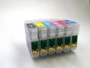 Перезаправляемые картриджи (ПЗК) Epson T50/ 1410 ( T0821 - T0826 )