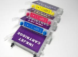 Перезаправляемые картриджи (ПЗК) Epson C67/ C87, CX3700/ CX4100/ CX4700