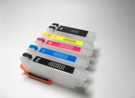 Перезаправляемые картриджи (ПЗК) Epson XP-600, XP-700, XP-800б XP-55, XP-950 без чипа