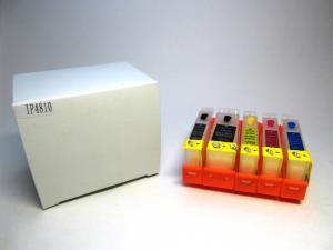 Перезаправляемые картриджи (ПЗК) Canon PIXMA iP4840 MG5140 iP4940 с чипом
