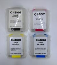 Перезаправляемые картриджи (ПЗК) HP DesignJet 110 / 100 с авточипом