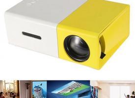 Мини проектор YG-300 2