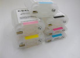 Перезаправляемые картриджи (ПЗК) HP DesignJet  30/ 130/ 90 series