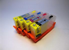 Перезаправляемые картриджи (ПЗК) HP 920 Без чипа