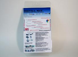 Заправочный набор со шприцами для цветных картриджей HP 121/ 122/ 134/ 135/ 136/ 141