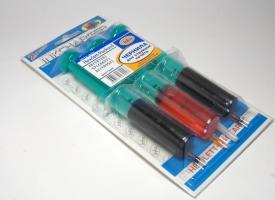 Заправочный набор со шприцами для картриджей HP 22/ 28/ 57 Color