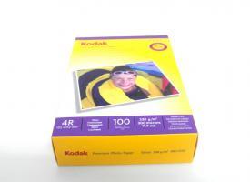Фотобумага Kodak 230г/м2 10х15, 100 л. глянцевая односторонняя