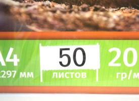 Фотобумага A4  200г/м2 50 л., глянцевая односторонняя Life