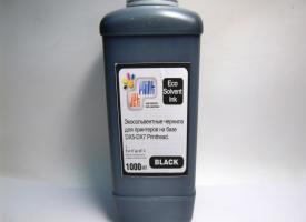 Эко Сольвентные чернила ( Eco solvent ) 1000мл Black