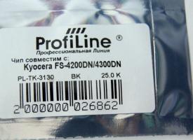Чип TK-3130-2.5K Kyocera FS-4200/ 4300/ EcoSys-M3550