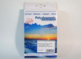 Фотобумага Polychromatic 10х15,  200г/м2 100 л., глянцевая односторонняя
